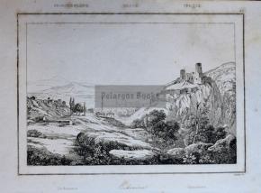 Ορχομενός / Χαρακτικό του 1835