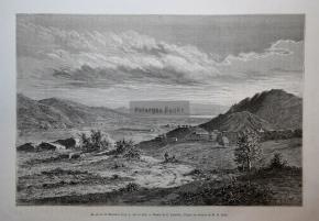 Μαραθώνας / Χαρακτικό του 1877