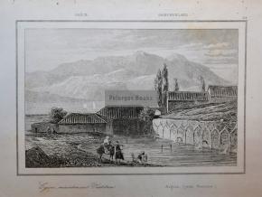Αίγιο - Χαρακτικό του 1835