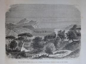 Πορθμός Ευρίπου - Εύβοια / 1876
