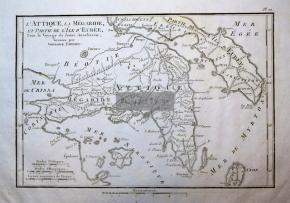 Αττική / Χαρακτικό του 1833